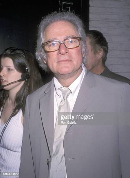 Producer Barry Levinson attends the Toyota Comedy Festival Presents Friars Club Roast To Richard Belzer on June 9 2001 at Town Hall in New York City...