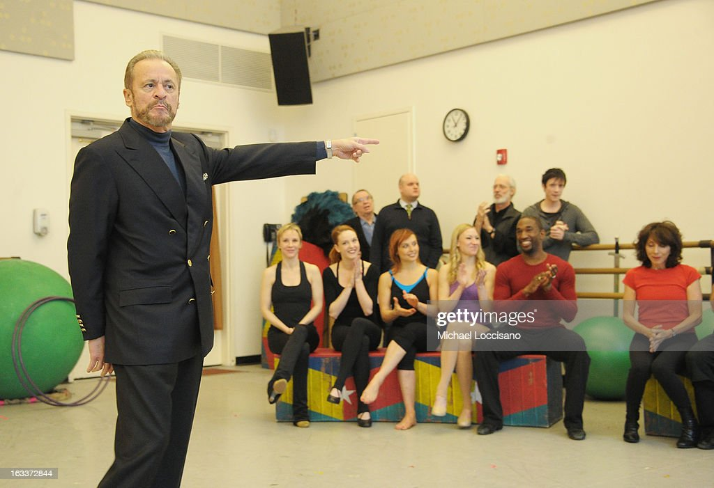 Producer Barry Weissler attends the 'Pippin' Broadway Open Press Rehearsal at Manhattan Movement & Arts Center on March 8, 2013 in New York City.