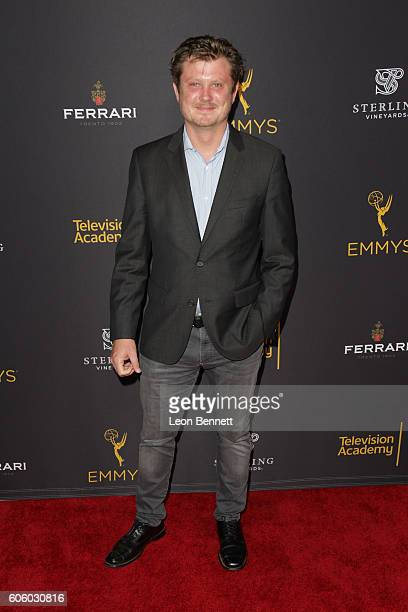 Producer Beau Willimon arrived at the Television Academy Hosts Reception For EmmyNominated Producers Arrivals at Montage Beverly Hills on September...