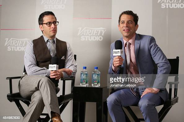 Producer Ben Barnz and director Daniel Barnz attend the Variety Studio presented by Moroccanoil at Holt Renfrew during the 2014 Toronto International...