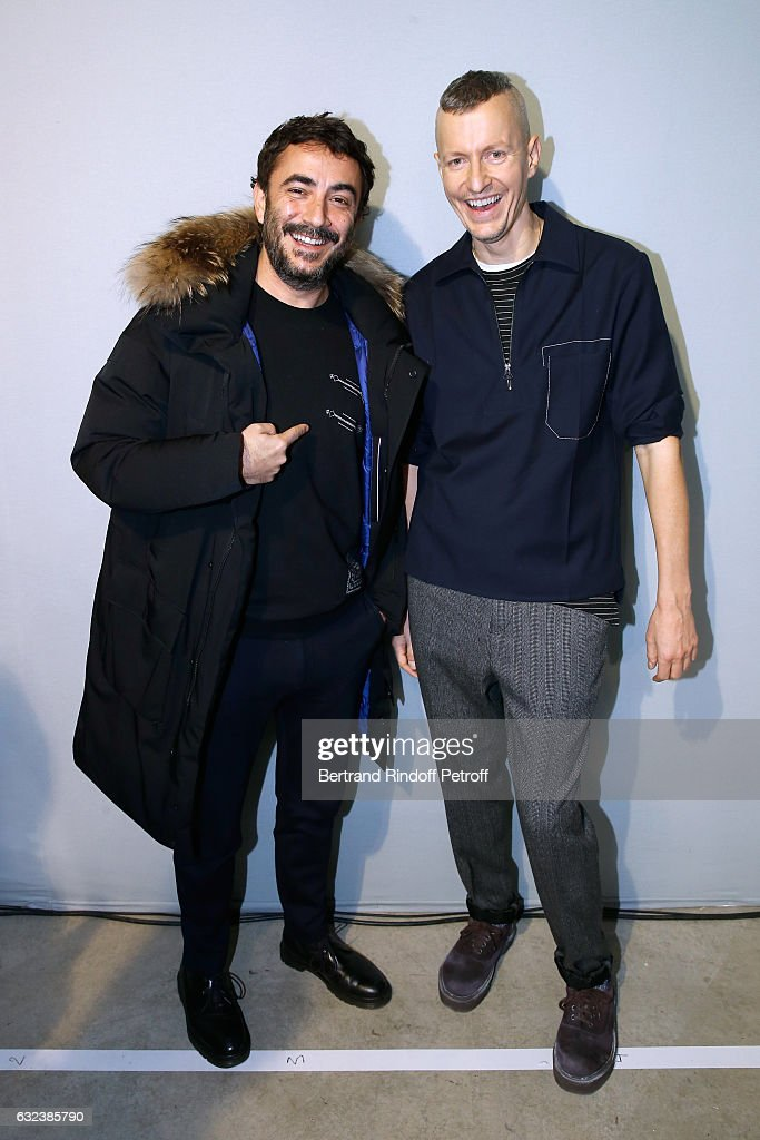 Lanvin: Front Row - Paris Fashion Week - Menswear F/W 2017-2018