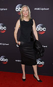 TV producer Betsy Beers attends the 2015 ABC upfront presentation at Avery Fisher Hall at Lincoln Center for the Performing Arts on May 12 2015 in...
