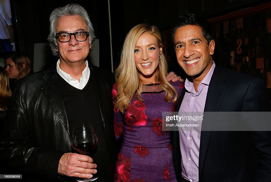 Producer Bill D'Elia, actress <a gi-track='captionPersonalityLinkClicked' href=/galleries/search?phrase=Jennifer+Finnigan&family=editorial&specificpeople=213001 ng-click='$event.stopPropagation()'>Jennifer Finnigan</a>, and <a gi-track='captionPersonalityLinkClicked' href=/galleries/search?phrase=Dr.+Sanjay+Gupta&family=editorial&specificpeople=3093323 ng-click='$event.stopPropagation()'>Dr. Sanjay Gupta</a> attend the screening of TNT's 'Monday Mornings' at BOA Steakhouse on January 24, 2013 in West Hollywood, California.
