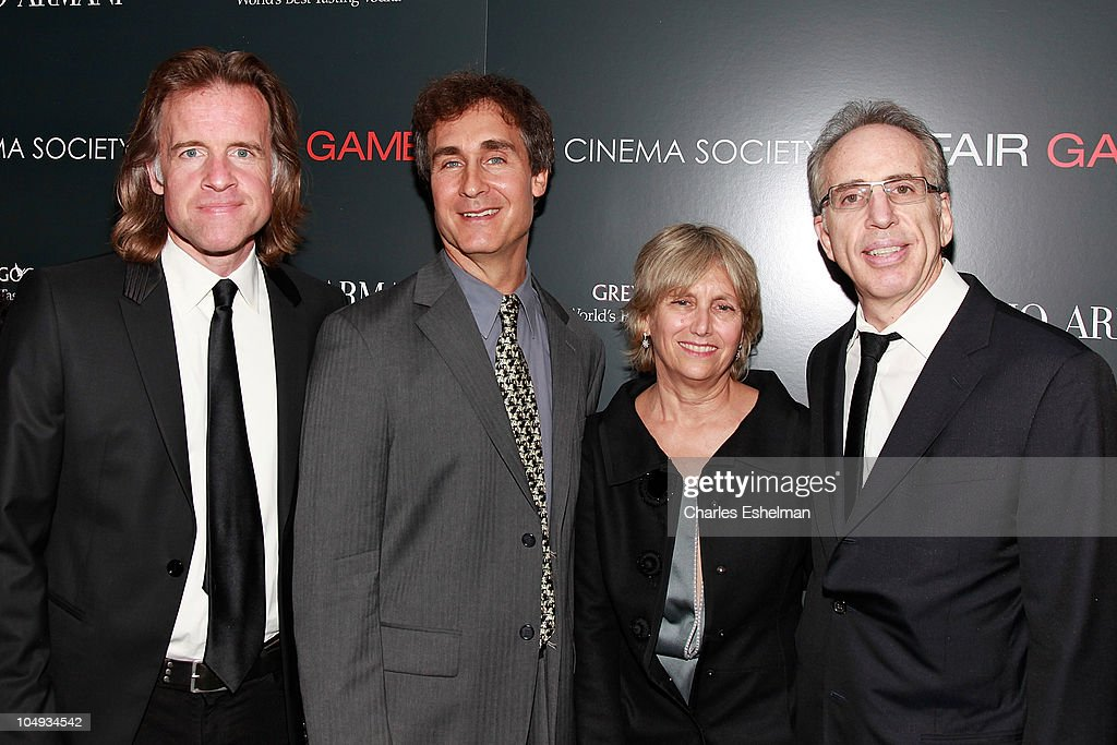 Producer Bill Pohlad, Director Doug Liman, producers Janet Zucker and Jerry Zucker attend Giorgio Armani & The Cinema Society's screening of 'Fair Game' at The Museum of Modern Art on October 6, 2010 in New York City.