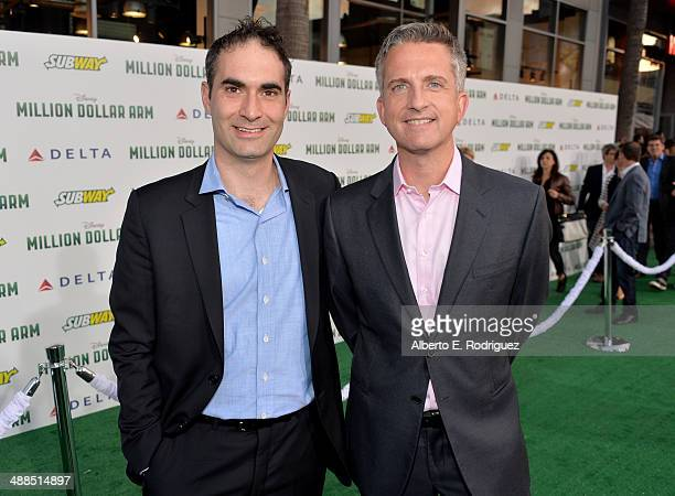 Producer Bill Simmons attends the premiere of Disney's 'Million Dollar Arm' at the El Capitan Theatre on May 6 2014 in Hollywood California