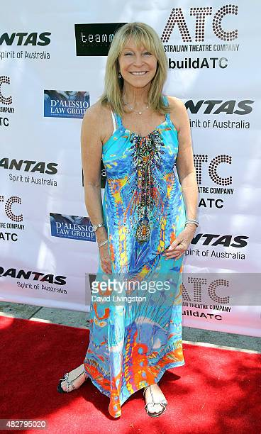 Producer Bonnie Lythgoe attends a fundraiser for the Australian Theatre Company hosted by the Australian ConsulGeneral on August 2 2015 in Los...