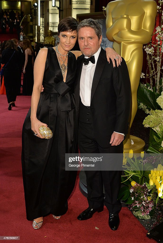 Producer <a gi-track='captionPersonalityLinkClicked' href=/galleries/search?phrase=Brad+Grey&family=editorial&specificpeople=220255 ng-click='$event.stopPropagation()'>Brad Grey</a> (R) and Cassandra Huysentruyt attend the Oscars held at Hollywood & Highland Center on March 2, 2014 in Hollywood, California.