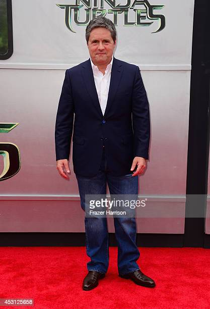 Producer Brad Grey attends Paramount Pictures' 'Teenage Mutant Ninja Turtles' premiere at Regency Village Theatre on August 3 2014 in Westwood...