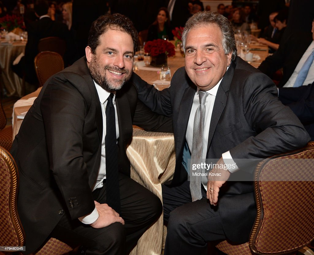 Producer Brett Ratner (L) and Fox Filmed Entertainment CEO Jim Gianopulos attend Simon Wiesenthal Center's 2014 Tribute Dinner at Regent Beverly Wilshire Hotel on March 18, 2014 in Beverly Hills, California.