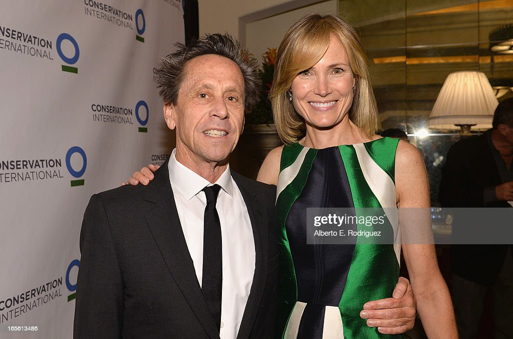 Producer Brian Grazer and Senior Editor of The Huffington Post Willow Bay attend Conservation International's 17th Annual Los Angeles Dinner at Montage Beverly Hills on April 4, 2013 in Beverly Hills, California.