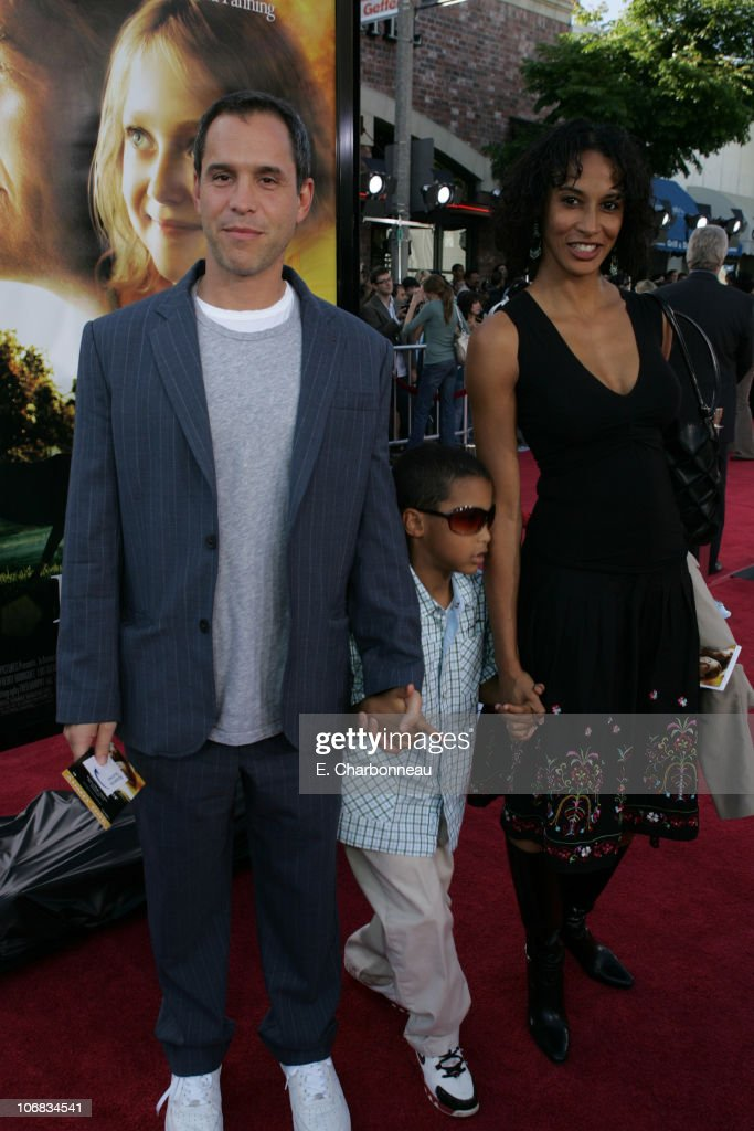 Producer Brian Robbins and wife Laure and son Miles