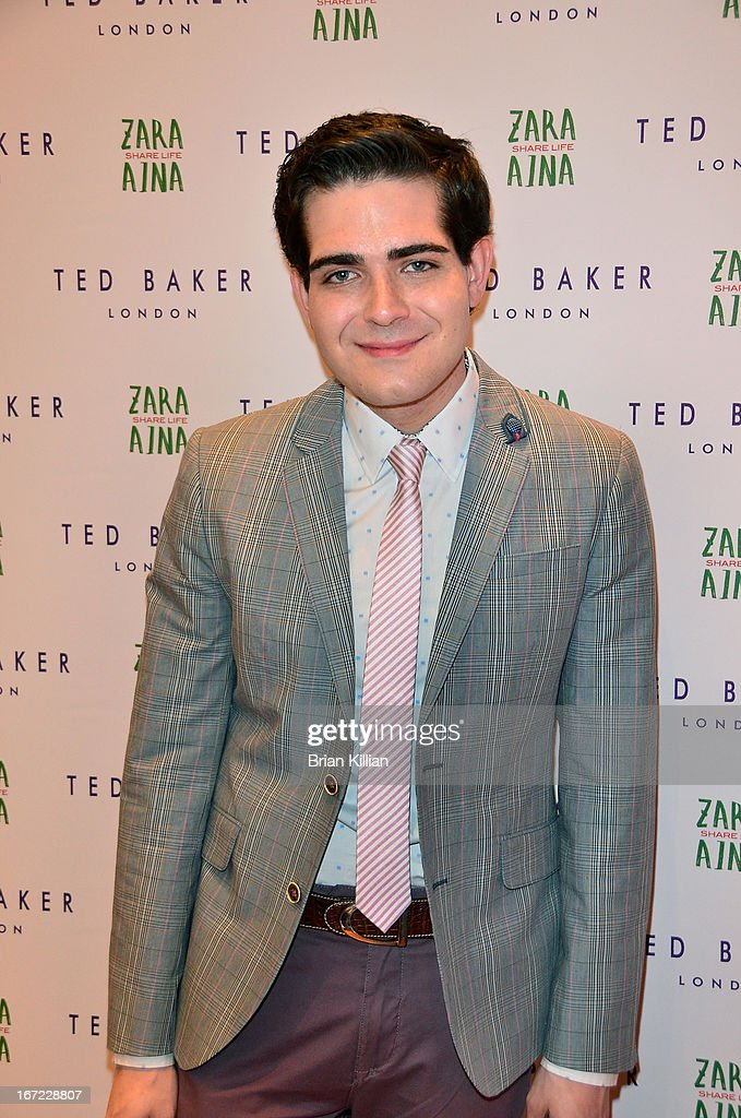 Producer Brian Zeilinger attends the Zara Aina Foundation Benefit at Ted Baker on April 22, 2013 in New York City.