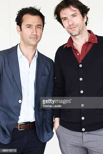 Producer Bruno Nahon and director Boris Lojkine are photographed for Self Assignment on May 21 2014 in Cannes France