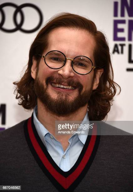 Producer Bryan Fuller attends the Film Independent at LACMA special screening and QA of 'American Gods' at the Bing Theatre at LACMA on April 10 2017...