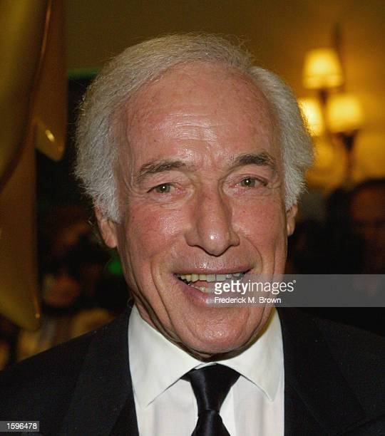 Producer Bud Yorkin attends the 15th Annual Academy Of Television Arts Sciences Hall Of Fame Ceremony at the Beverly Hills Hotel on November 6 2002...