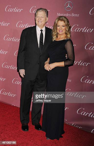 Producer Burt Sugarman and TV personality Mary Hart attend the 26th Annual Palm Springs International Film Festival Awards Gala at the Palm Springs...