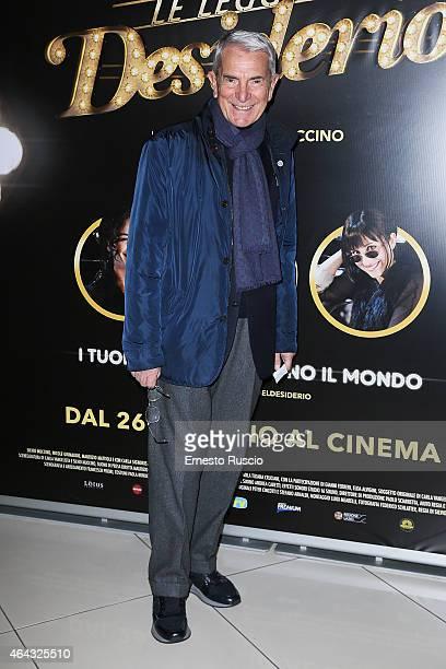 Producer Carlo Rossella attends the 'Le Leggi Del Desiderio' screening at Cinema Adriano on February 24 2015 in Rome Italy