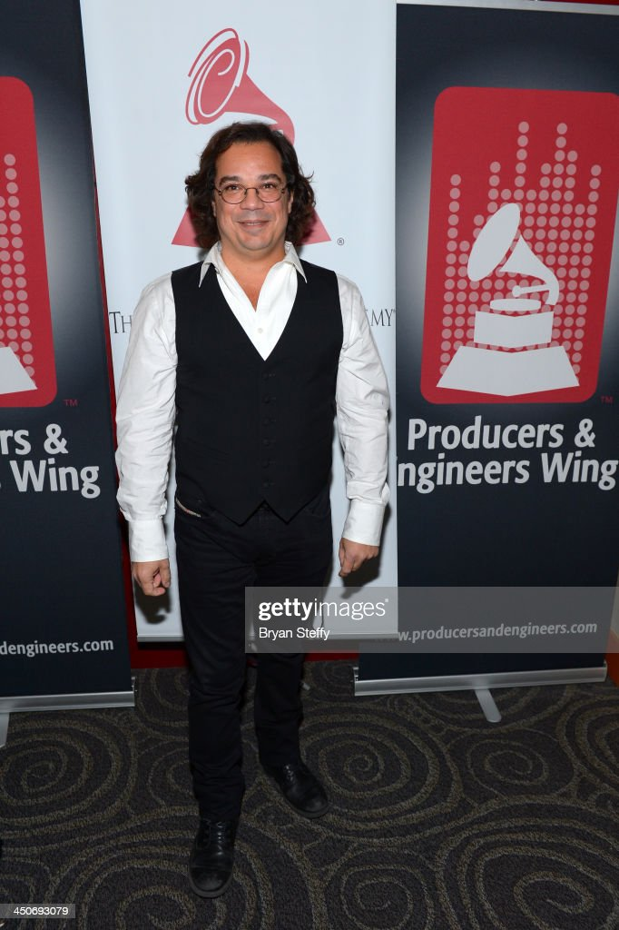 Producer Carlos Alvarez attends the P&E Wing Latin GRAMMY Celebration during the 14th annual Latin GRAMMY Awards on November 19, 2013 at the Palms Casino Resort in Las Vegas, Nevada.