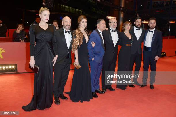 Producer Carolina Bang actors Jaime Ordonez Blanca Suarez Secun de la Rosa director Alex de la Iglesia producer Mercedes Gamero actor Mario Casas and...