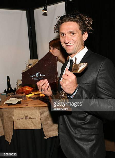 Producer Casey Neistat attends the 26th Spirit Awards official presenter gift lounge produced by On 3 Productions at Santa Monica Beach on February...