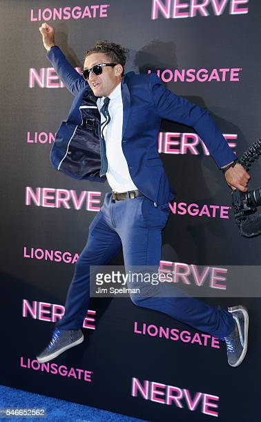 Producer Casey Neistat attends the 'Nerve' New York premiere at SVA Theater on July 12 2016 in New York City