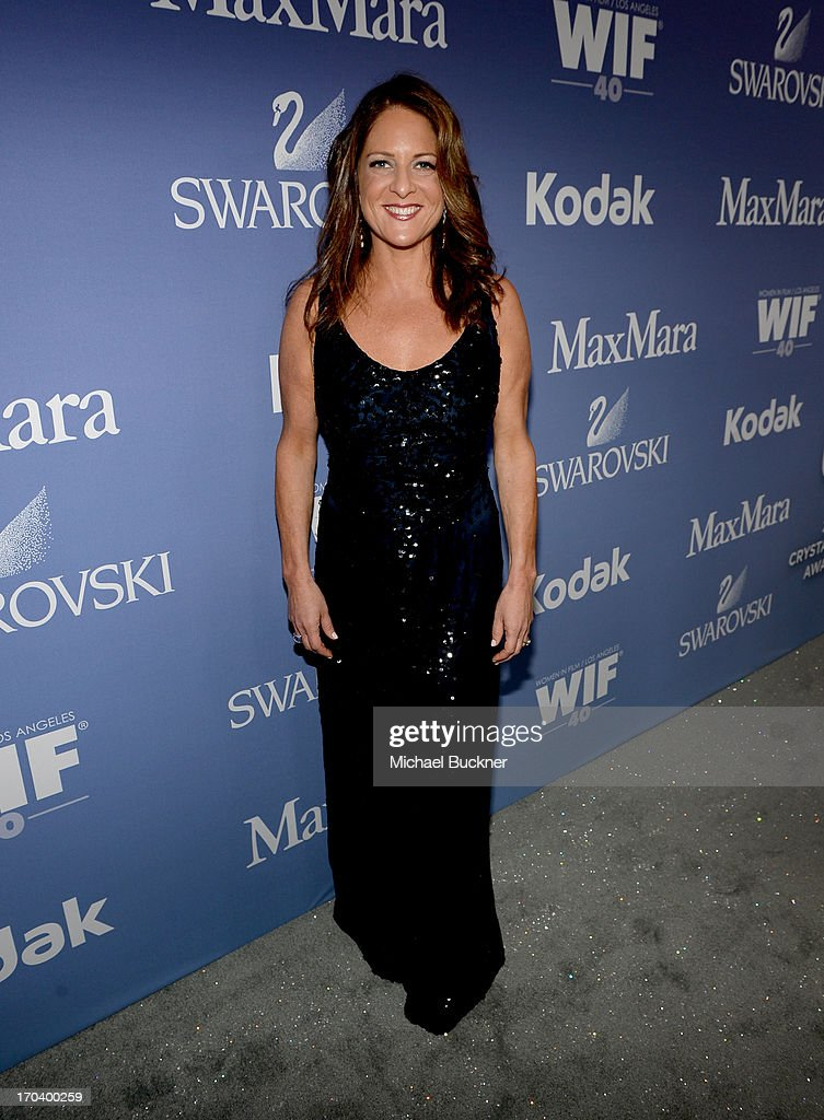 Producer <a gi-track='captionPersonalityLinkClicked' href=/galleries/search?phrase=Cathy+Schulman&family=editorial&specificpeople=677977 ng-click='$event.stopPropagation()'>Cathy Schulman</a> attends Women In Film's 2013 Crystal + Lucy Awards at The Beverly Hilton Hotel on June 12, 2013 in Beverly Hills, California.