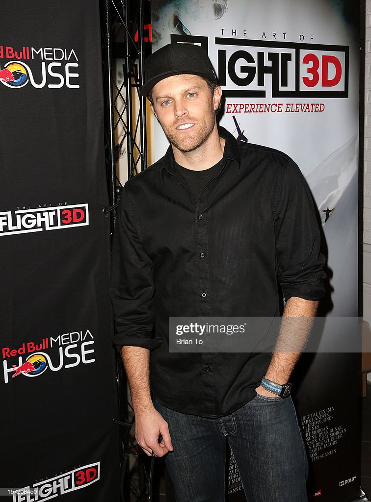 Producer Chad Jackson attends The Art of Flight 3D - Los Angeles screening at AMC Criterion 6 on November 29, 2012 in Santa Monica, California.
