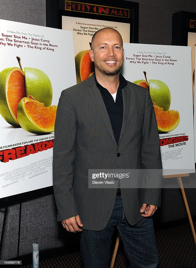 Producer Chad Troutwine attends the 'Freakonomics' premiere at Cinema 2 on September 29, 2010 in New York City.
