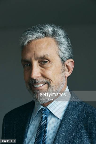 Producer Charles Cohen is photographed for Self Assignment on February 2 2017 in Paris France