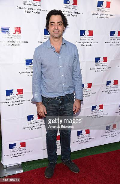 Producer Charles Gillibert attends the Champagne brunch reception honoring the French nominees for The 88th Academy Awards at La Residence de France...