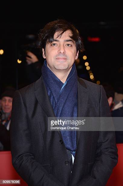 Producer Charles Gillibert attends the 'Things to Come' premiere during the 66th Berlinale International Film Festival Berlin at Berlinale Palace on...