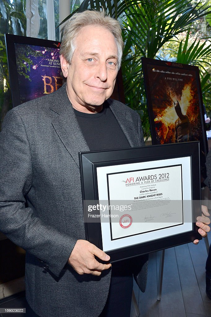 Producer Charles Roven attends the 13th Annual AFI Awards at Four Seasons Los Angeles at Beverly Hills on January 11, 2013 in Beverly Hills, California.