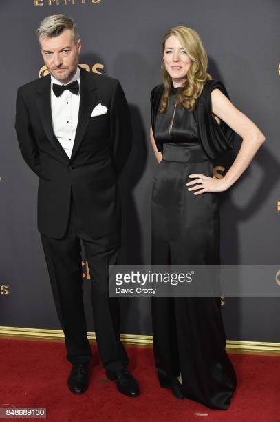 Producer Charlie Brooker attends the 69th Annual Primetime Emmy Awards at Microsoft Theater on September 17 2017 in Los Angeles California