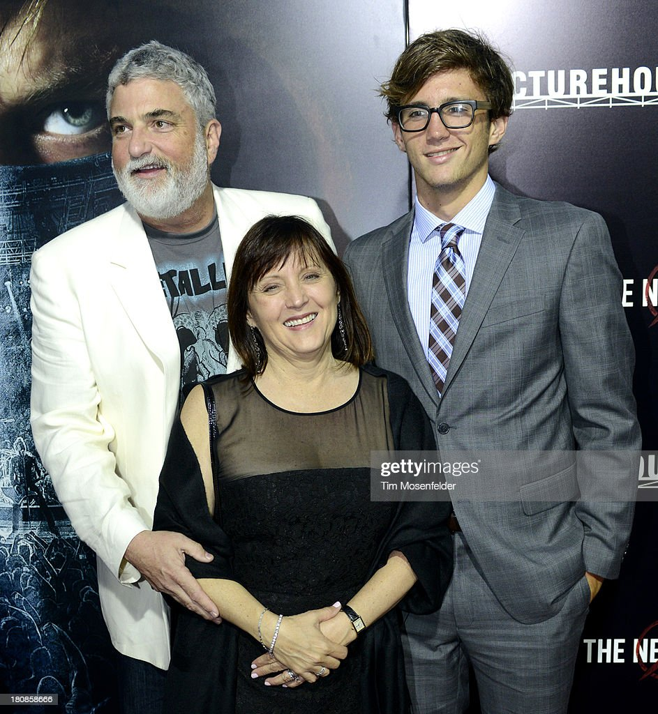 Producer Charlotte Huggins and Family attend the U.S. Premiere of Metallica Through The Never at the AMC Metreon on September 16, 2013 in San Francisco, California.