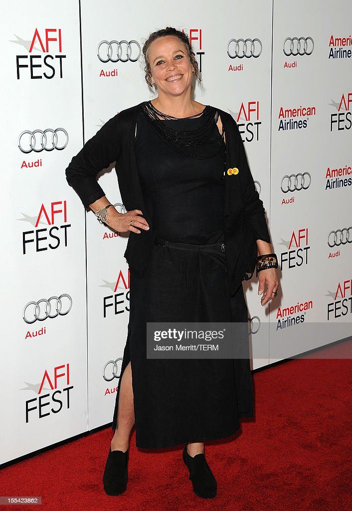 Producer China Ahlander arrives at the 'Holy Motors' special screening during the 2012 AFI Fest at Grauman's Chinese Theatre on November 3, 2012 in Hollywood, California.