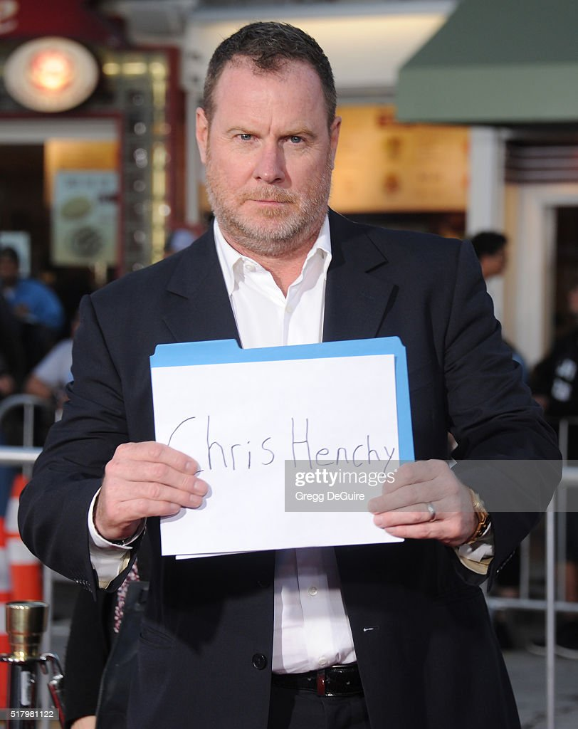 Producer Chris Henchy arrives at the premiere of USA Pictures' 'The Boss' at Regency Village Theatre on March 28, 2016 in Westwood, California.