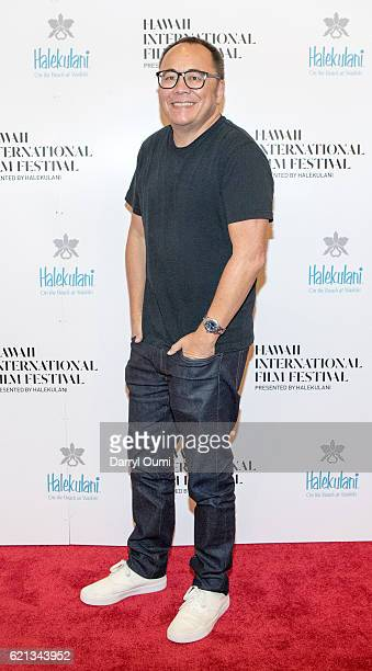 Producer Chris Lee arrives for the Hawaii International Film Festival at the Regal Dole Cannery Stadium 18 on November 5 2016 in Honolulu Hawaii