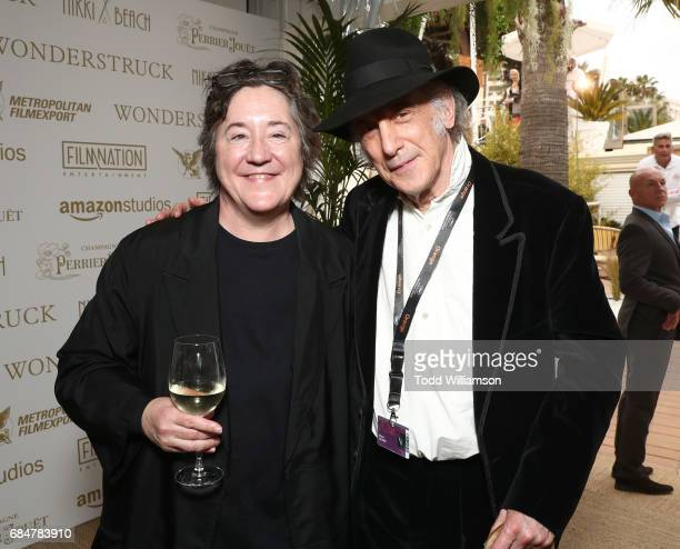 Producer Christine Vachon and Edward Lachman attend the 'Wonderstruck' Cannes After Party on May 18 2017 in Cannes