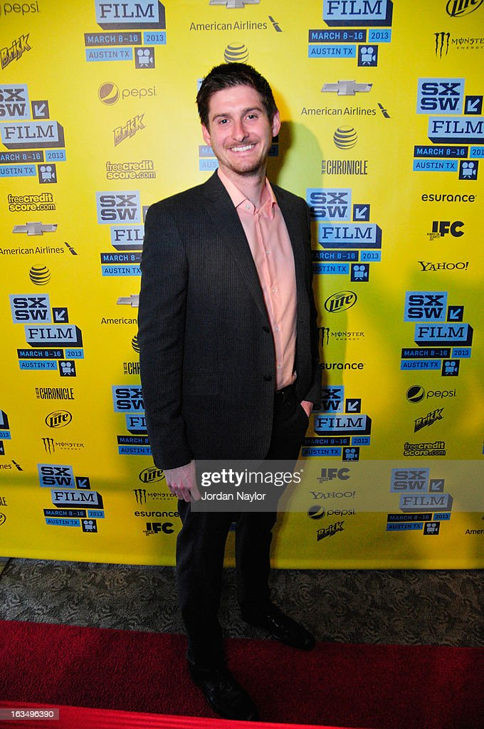 Producer Christopher Leggett poses in the greenroom at the screening of 'The Short Game' during the 2013 SXSW Music, Film + Interactive Festival at Stateside Theater on March 10, 2013 in Austin, Texas.