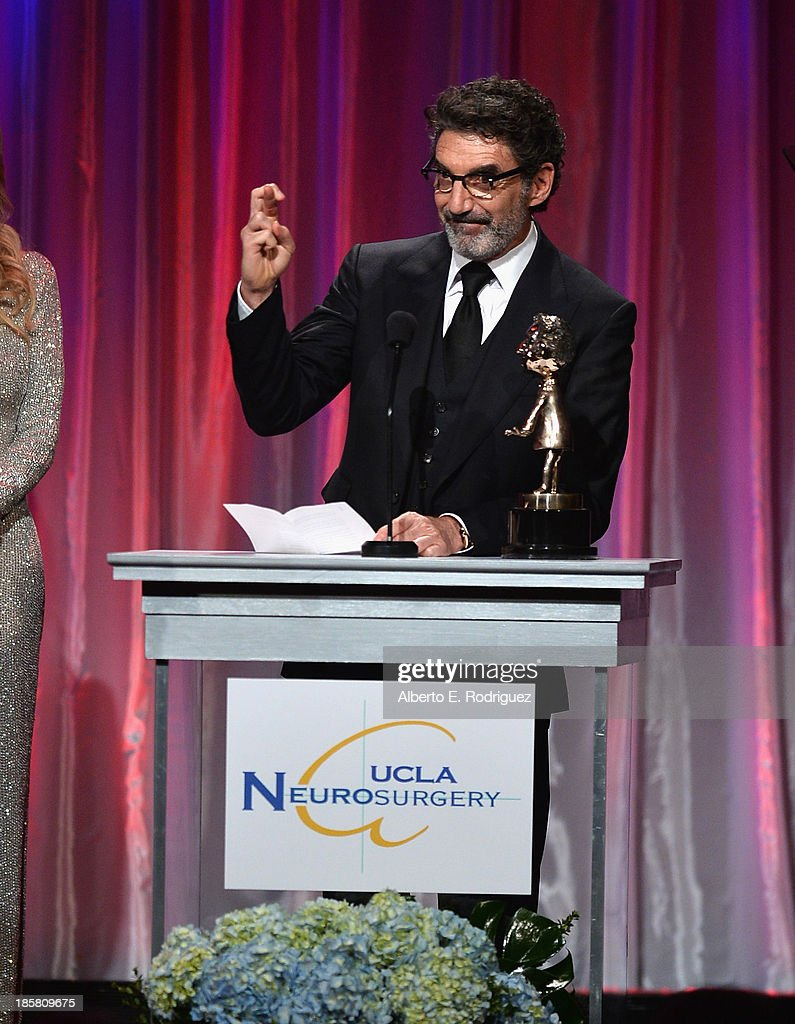 Producer Chuck Lorre attend the 2013 UCLA Neurosurgery Visionary Ball at the Beverly Wilshire Four Seasons Hotel on October 24, 2013 in Beverly Hills, California.