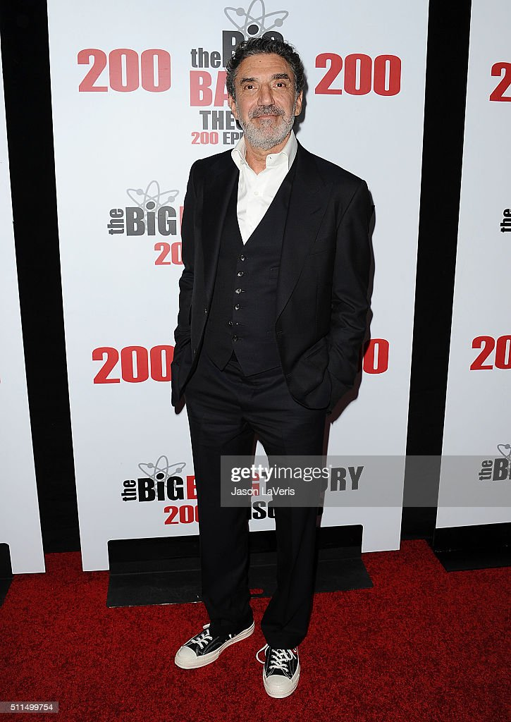 Producer Chuck Lorre attends 'The Big Bang Theory' 200th episode celebration at Vibiana on February 20 2016 in Los Angeles California