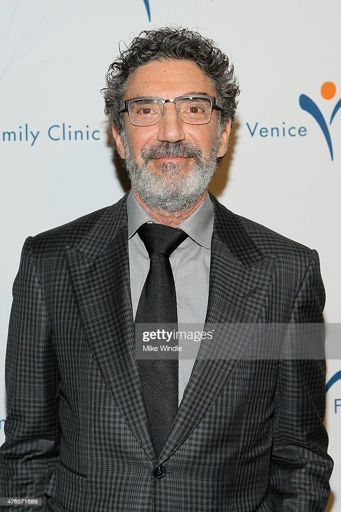 Producer <a gi-track='captionPersonalityLinkClicked' href=/galleries/search?phrase=Chuck+Lorre&family=editorial&specificpeople=2307242 ng-click='$event.stopPropagation()'>Chuck Lorre</a> attends the Venice Family Clinic's 32nd Annual Silver Circle Gala held at The Beverly Hilton Hotel on March 3, 2014 in Beverly Hills, California.