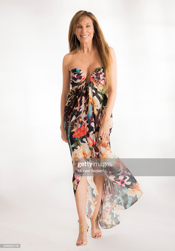 Producer Cindy Cowan poses for portrait at The Starving Artists Project on June 26, 2016 in Los Angeles, California.
