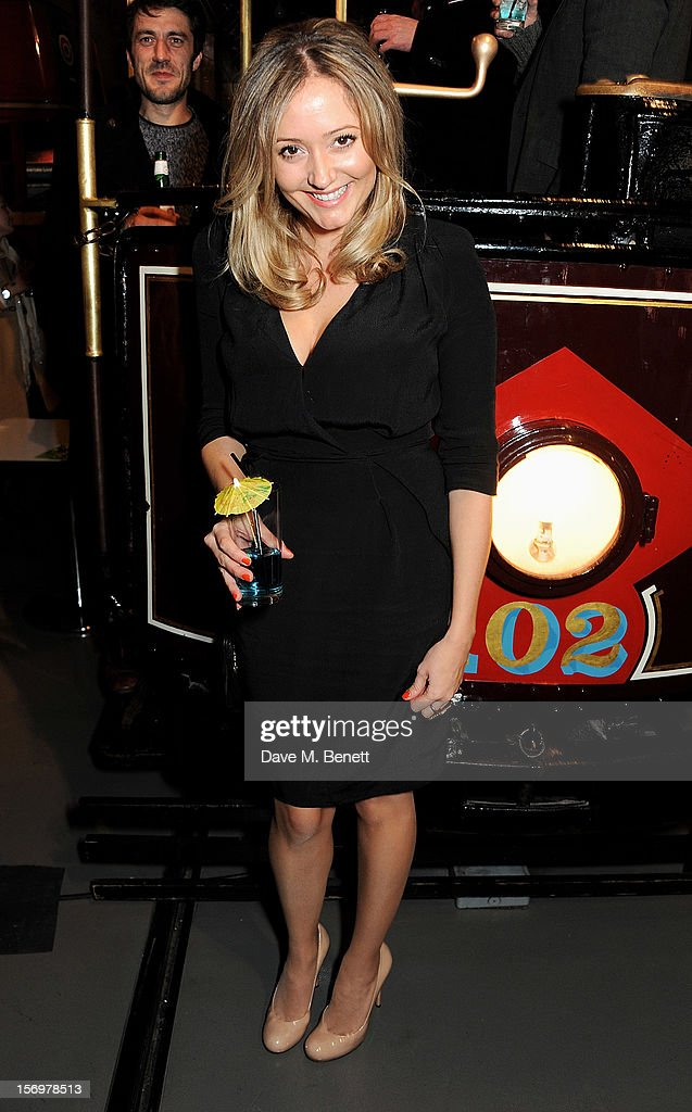 Producer Claire Jones attends the UK Premiere of 'Sightseers' in association with Stella Artois at the London Transport Museum on November 26, 2012 in London, England.
