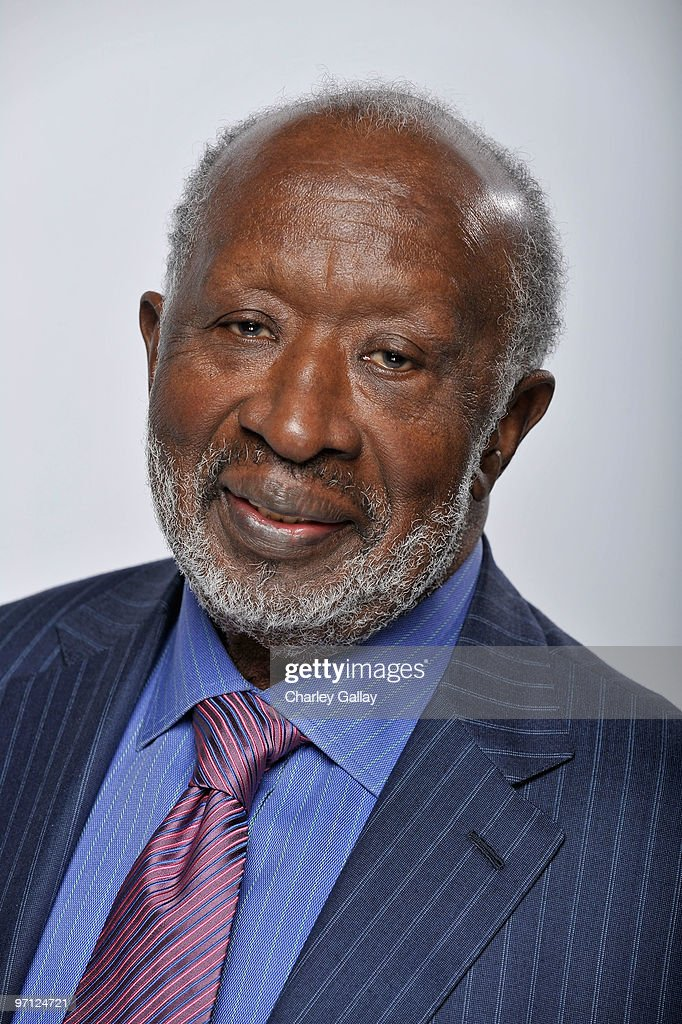 Producer Clarence Avant, winner NAACP Image Hall Of Fame Award, poses for a portrait during the 41st NAACP Image awards held at The Shrine Auditorium on February 26, 2010 in Los Angeles, California.