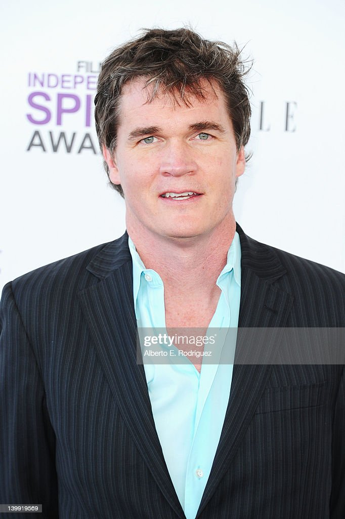 Producer Clark Peterson arrives at the 2012 Film Independent Spirit Awards on February 25, 2012 in Santa Monica, California.