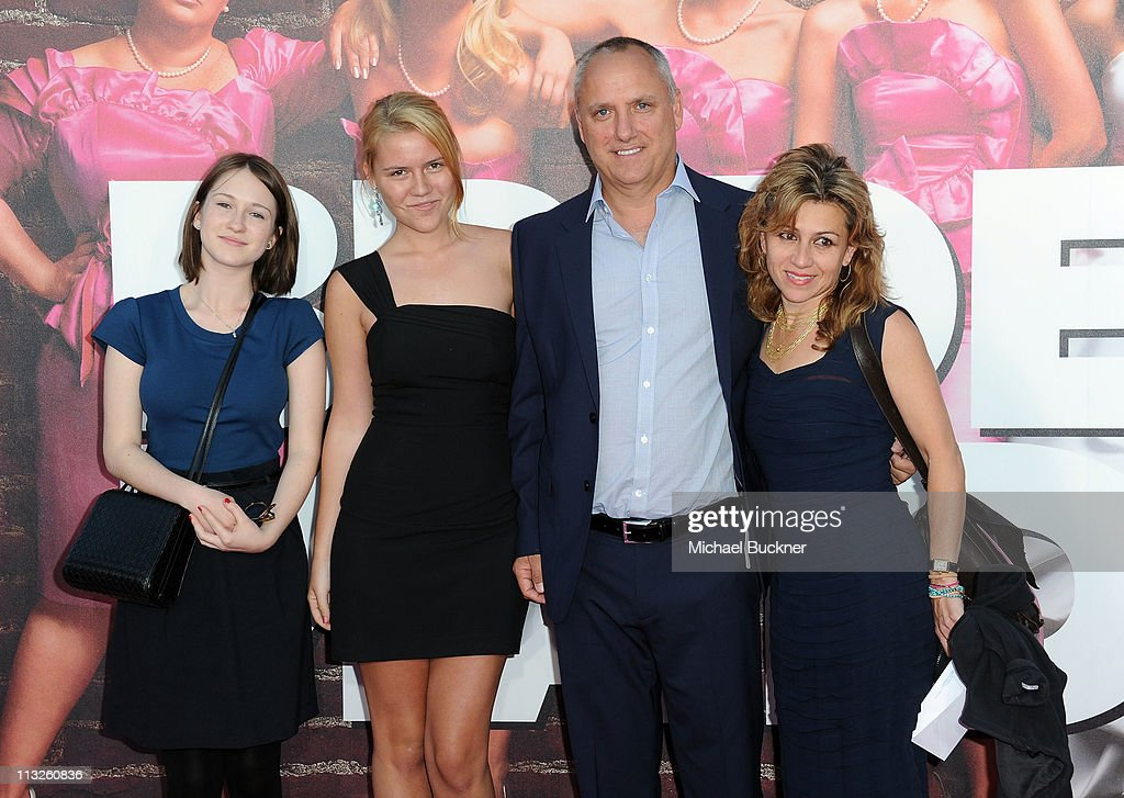 Producer Clayton Townsend (2ndR) and family attend the Premiere Of Universal Pictures' 'Bridesmaids' at Mann Village Theatre on April 28, 2011 in Westwood, California.