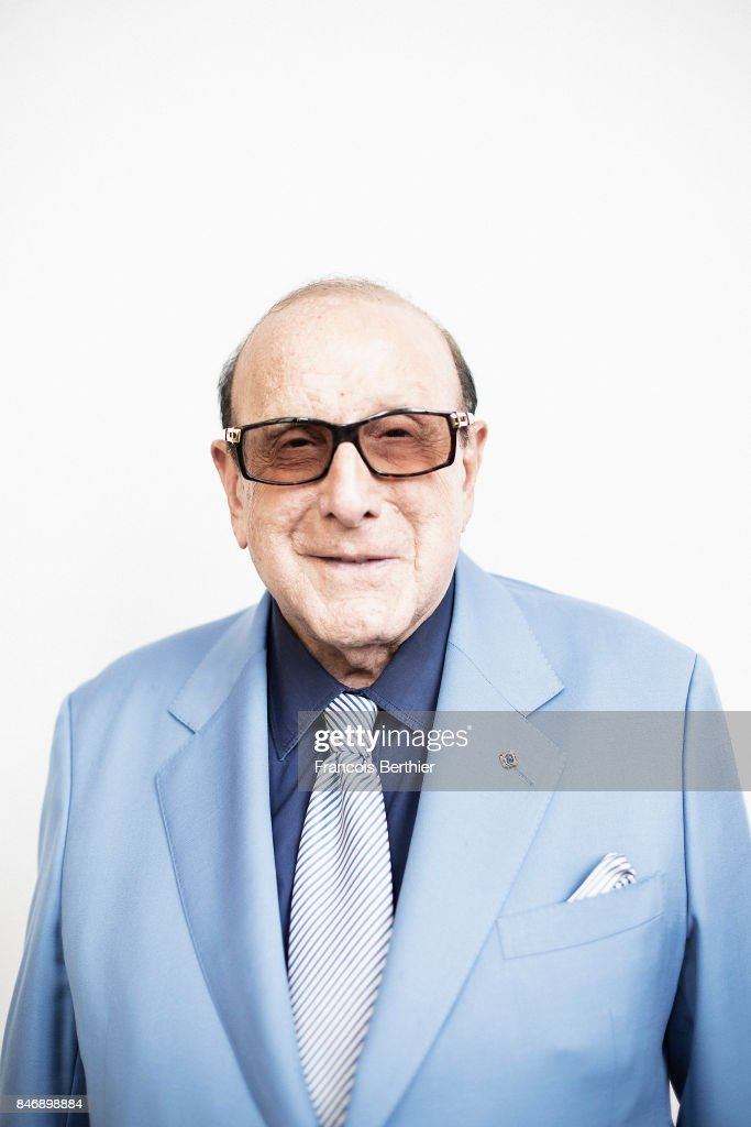 Producer Clive Davis is photographed on September 3, 2017 in Deauville, France.