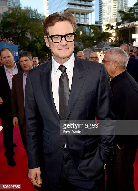 Producer Colin Firth attends the 'Loving' premiere during the 2016 Toronto International Film Festival at Roy Thomson Hall on September 11 2016 in...
