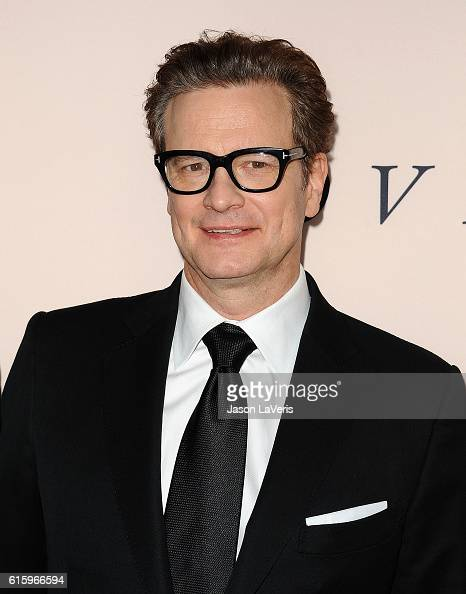 Producer Colin Firth attends the premiere of 'Loving' at Samuel Goldwyn Theater on October 20 2016 in Beverly Hills California